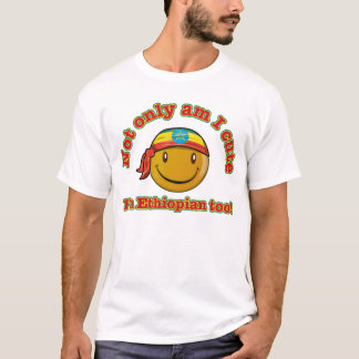Camiseta Diseño etíope lindo