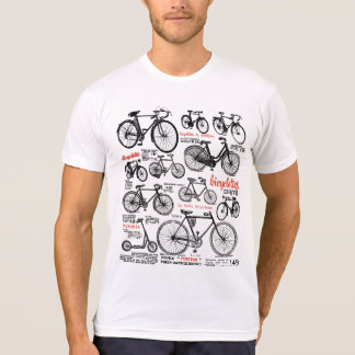 Camiseta Diseño francés del anuncio del catálogo de la