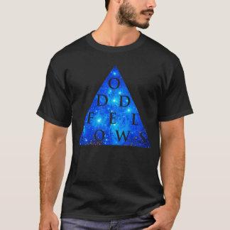 Camiseta Diseño geométrico de la galaxia de las PERSONAS