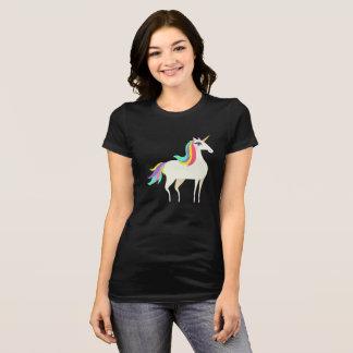 Camiseta Diseño gráfico del unicornio colorido fresco