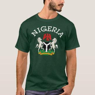 Camiseta Diseño nigeriano del escudo de armas