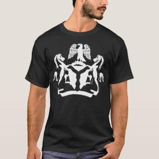 Camiseta Diseño nigeriano fresco del escudo de armas