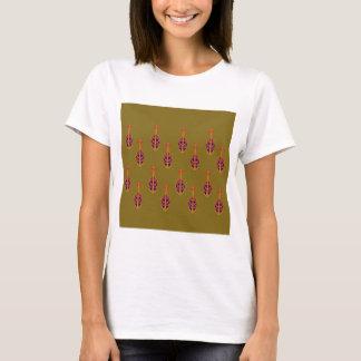 Camiseta Diseño ornamental. Tienda de lujo