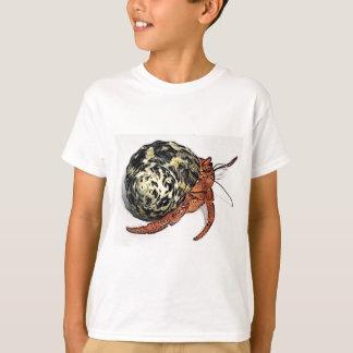 Camiseta Diseño púrpura del cangrejo de ermitaño de Pincher
