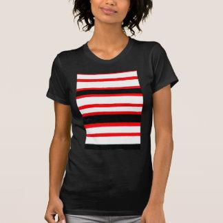 Camiseta Diseño rayado de la abstracción