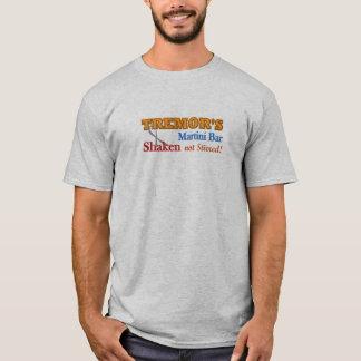Camiseta Diseño sacudido barra de Martini del temblor de