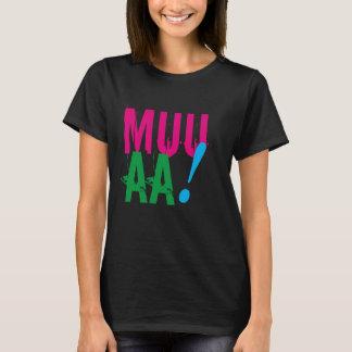Camiseta diseño sano del el día de San Valentín del muaaa