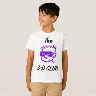 Camiseta Diseño tridimensional del club de Hanes de los