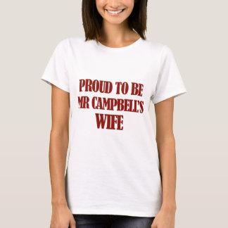 Camiseta Diseños de señora Campbell