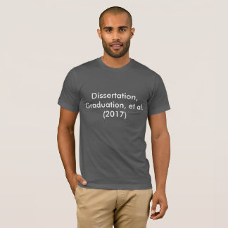 Camiseta Disertación, graduación, y otros (2017)