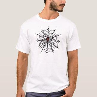 Camiseta disimulada de Halloween de la araña