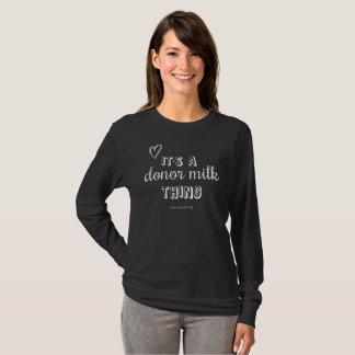 Camiseta dispensadora de aceite de la cosa de la