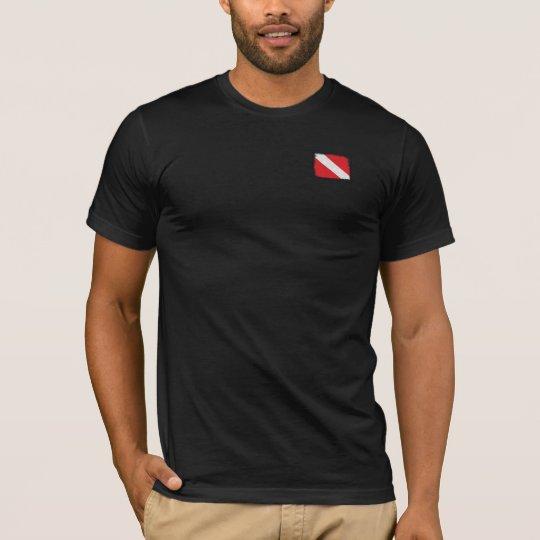 Camiseta Dive in White