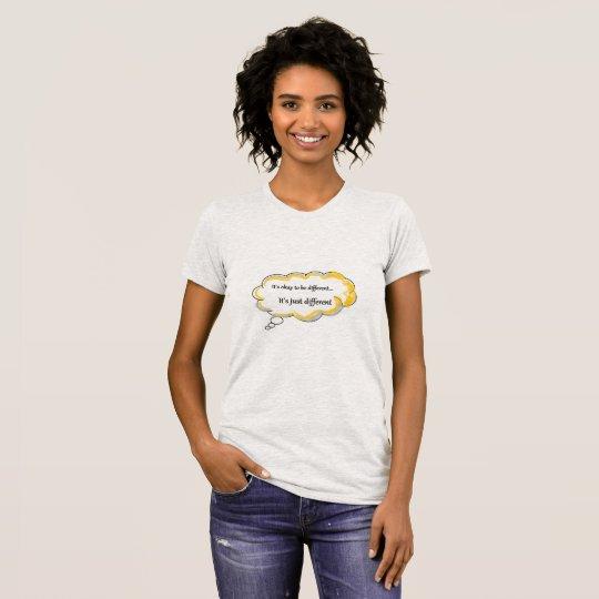 Camiseta Diversa clase de sensación