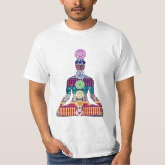 Camiseta DIVERSIÓN de la paz NVN630 de la meditación de la