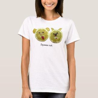 Camiseta divertida /Apparel de las frutas del