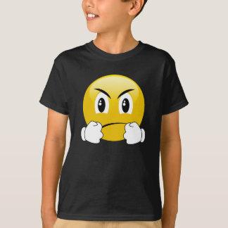 Camiseta divertida de Emoji de los puños que lucha