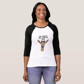 Camiseta divertida de la cabra