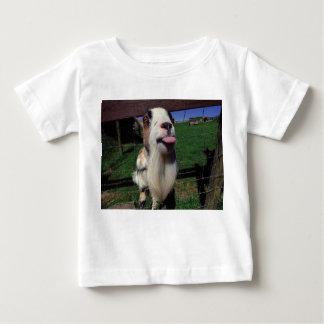 Camiseta divertida de la cabra fresca 6 meses a 24