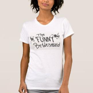 Camiseta divertida de la dama de honor