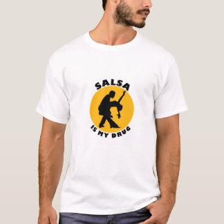Camiseta divertida de la danza de la salsa, idea