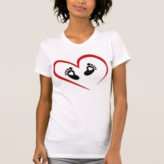 Camiseta divertida de la mujer embarazada