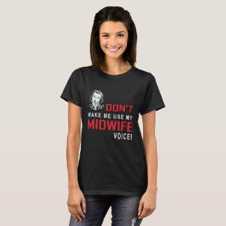 Camiseta divertida de las parteras de la camiseta