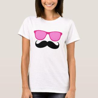 Camiseta divertida de las señoras del bigote de