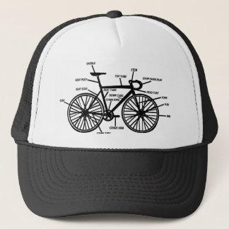 Camiseta divertida de los frikis del friki de la gorra de camionero