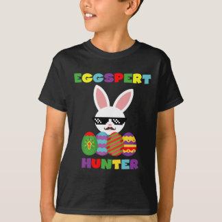 Camiseta divertida de los niños de los cazadores