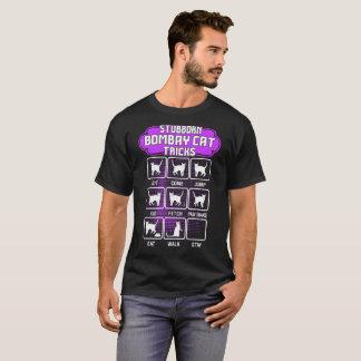Camiseta divertida de los trucos del gato
