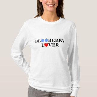 Camiseta divertida del amante del arándano de las