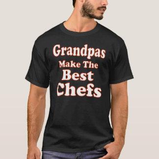 Camiseta divertida del cocinero del abuelo