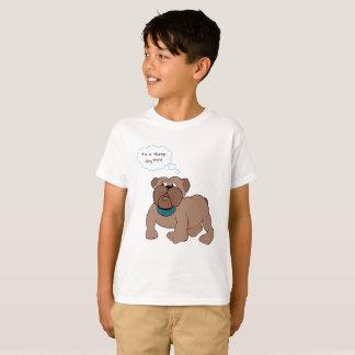 Camiseta divertida del dogo del día de chepa