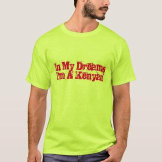 Camiseta divertida del funcionamiento del Kenyan