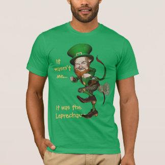 Camiseta divertida del irlandés del Leprechaun el