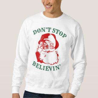 """Camiseta divertida del navidad: """"NO PARE BELIEVIN"""