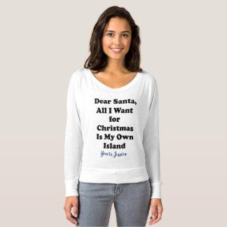 Camiseta divertida del navidad para los chicas