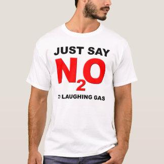 Camiseta divertida del óxido nitroso del gas