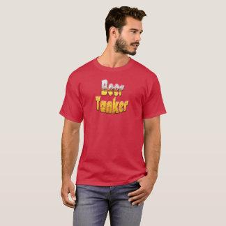 Camiseta divertida del petrolero de la cerveza