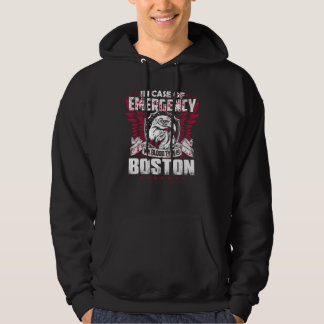 Camiseta divertida del vintage para BOSTON