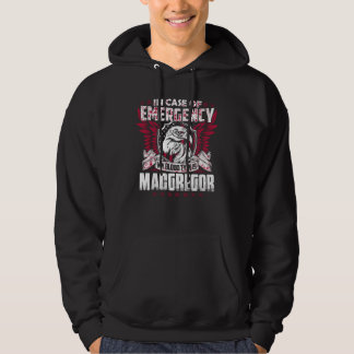 Camiseta divertida del vintage para MACGREGOR