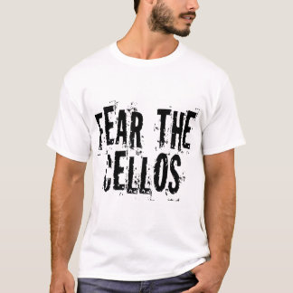 Camiseta divertida del violoncelo - modificada