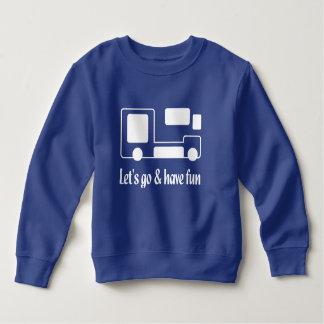Camiseta divertida HQH del paño grueso y suave del