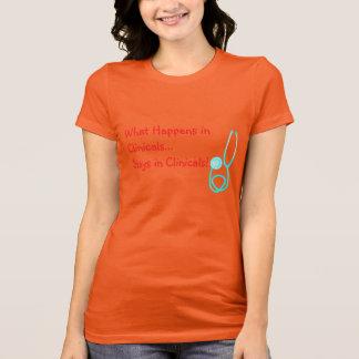 Camiseta divertida II de Clinicals del estudiante