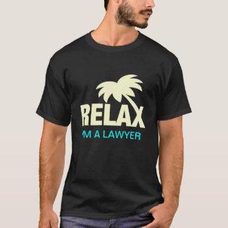 Camiseta divertida para los abogados con el refrán