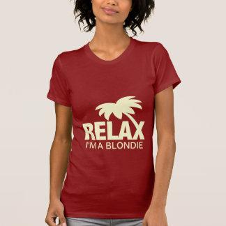 Camiseta divertida para los blondies