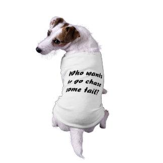 Camiseta divertida para los perros