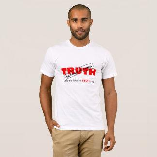 Camiseta divertida sobre verdad y moralejas