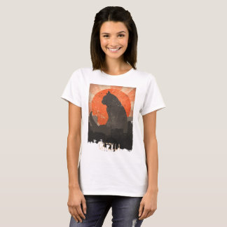 Camiseta divertida y Hoddie de Catzilla